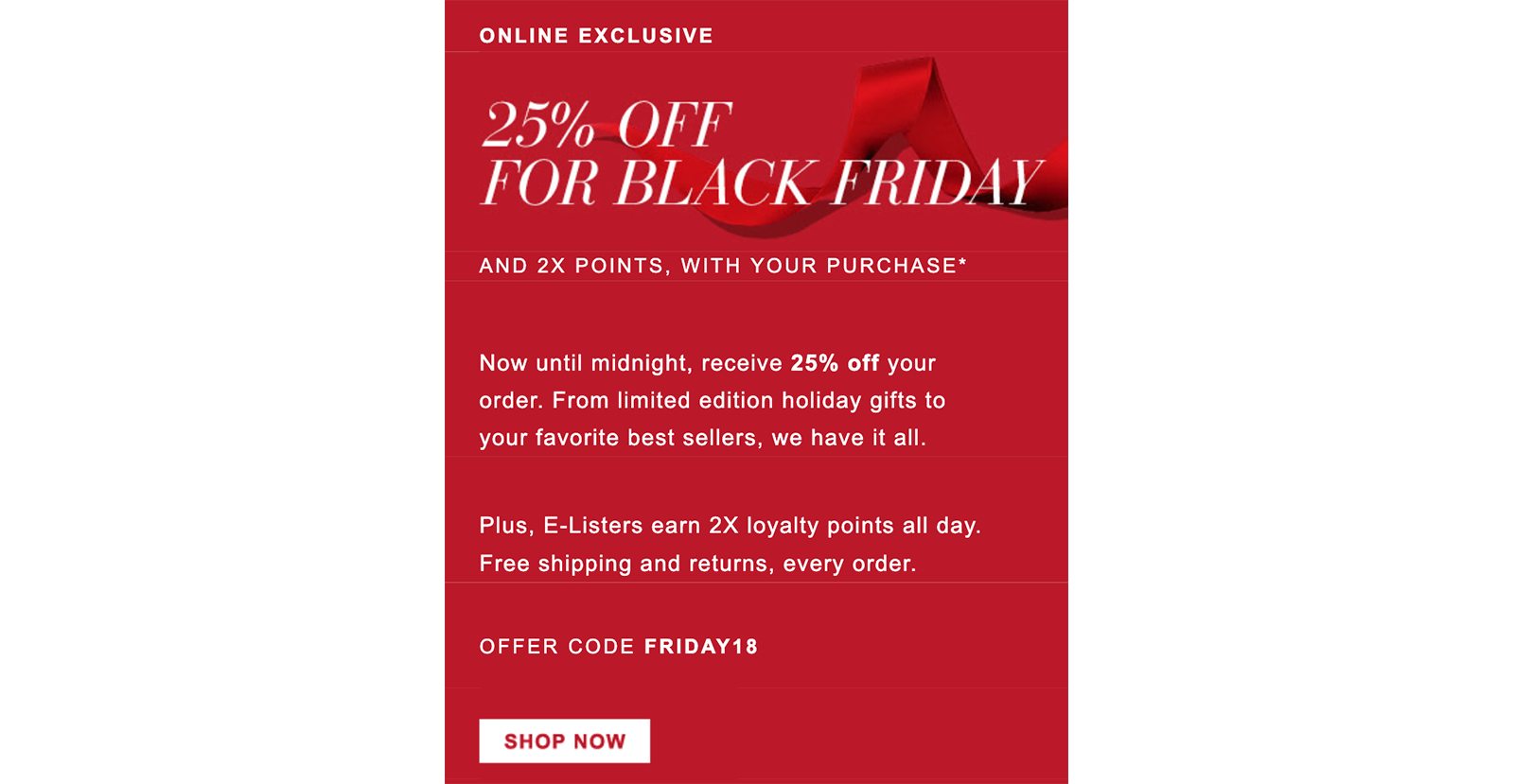 Estee Lauder Black Friday