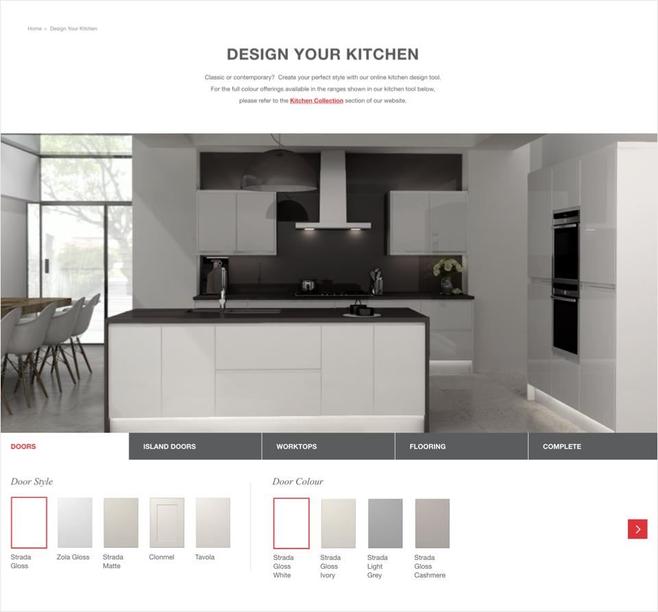 Kitchen Stori Web Design Ux Design Eyekiller