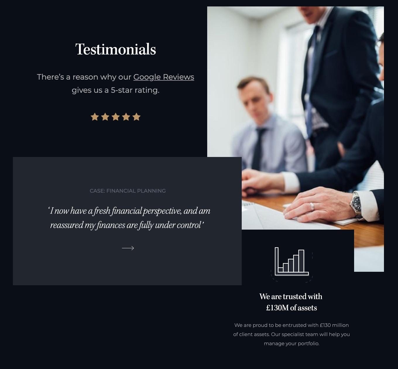 Leeburn financial reassure